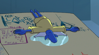 S3E2 Glossaryck crying in the Book of Spells