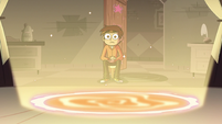 S3E18 Marco sitting in front of the portal