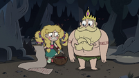 S3E27 Star Butterfly stirring tree sap in frustration