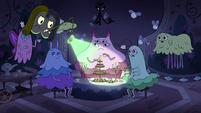 S4E21 Nightmare Dream searches Moon's spells' room
