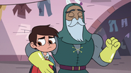 S3E14 Sir Lavabo puts an arm around Marco