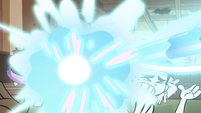 S1E5 Monster arm finally hit by magic beam
