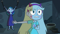 S3E11 Star Butterfly defending Eclipsa