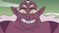 S4E24 Globgor smiling at Meteora in tears