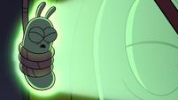 S4E21 Glowworm slams against the wall