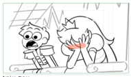 Face the Music Ballad of Star Butterfly storyboard 11