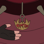 S4E22 Marco points at Hampton's name tag.png