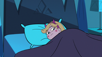 S3E9 Star Butterfly hears something in her bed