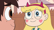 S3E14 Star Butterfly smiling back at Marco