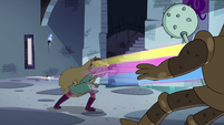 S4E1 Star releasing Rainbow Fist Punch
