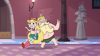 S3E27 King Butterfly dragging Star away