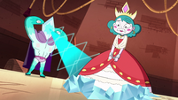S4E24 Rhombulus starts to crystallize Eclipsa