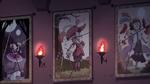 S4E15 Crescenta, Jushtin, and Estrella's tapestries