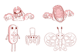 Spider With a Top Hat Concept Art 3