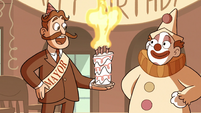 S2E27 Old mayor's birthday candles suddenly relight