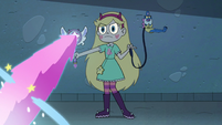 S3E11 Star Butterfly summoning Cloudy