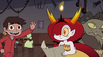 S3E22 Marco Diaz running up to Hekapoo