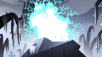 S4E5 Lightning strikes the mountaintop