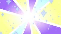 S3E35 Bright flash of light