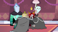 S3E9 Moon, River, Rhombulus, and Hekapoo laughing