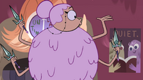 S4E12 Librarian notices one of her hands is empty