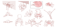 Spider With a Top Hat Concept Art 6