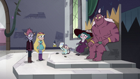 S4E25 Star and Tom meet with Eclipsa and Globgor