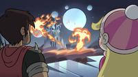 S4E5 Flames roaring inside the Neverzone