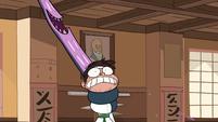 S1E5 Monster arm strangles Marco