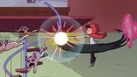 S3E37 Marco knocks the firework kittens away