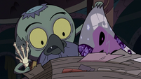 S2E35 Ludo turning the first page of Eclipsa's chapter