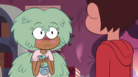 S4E12 Kelly blushes back at Marco