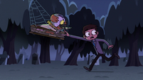 S2E27 Ludo pointing toward Star Butterfly