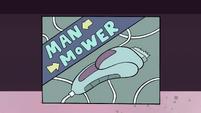 S4E11 Man Mower-brand electric razor