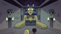 """S1E8 Riddle Sphinx """"how could you possibly that?"""""""
