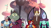 S3E2 Mewni royal court staring in complete surprise