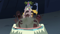 S4E17 Glossaryck pointing at founders of Mewni