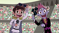S4E24 Marco and Tom happy to see Star
