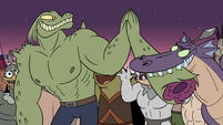 S3E2 Rasticore high-fives his own severed arm
