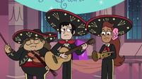 S3E25 Mariachi band stops playing music