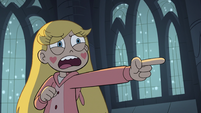 S3E25 Star Butterfly 'you didn't believe in the Stump?'