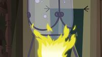 S3E30 Bunsen burner heating a beaker