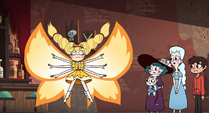 S4E37 Star in her butterfly form