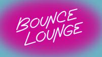S2E33 Neon Bounce Lounge logo powering on