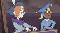S4E24 Ruberiot plays harpsichord next to Foolduke