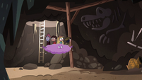 S4E30 Star and friends enter underground cavern