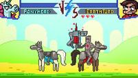 S1e2 marco skewers pony head