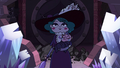 S3E38 Eclipsa walks through the destroyed wall