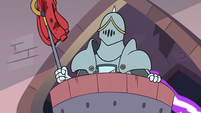 S3E8 Sir Lavabo in a laundry basket