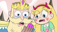 S4E1 Star and River shocked by fake cheek mark